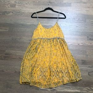 Yellow Free People Sundress